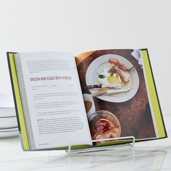 COOK BOOKS AND STANDS