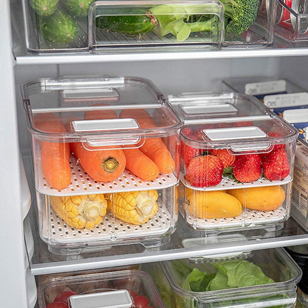 FOOD CONTAINERS AND SAVERS